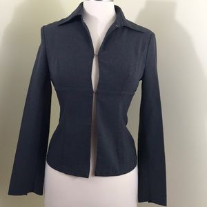 GUESS charcoal gray blazer jacket Size Small